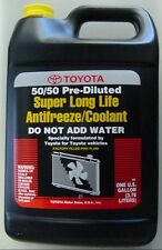1 Gallon Toyota-Scion Super Long Life Pink Antifreeze Coolant - OEM NEW!
