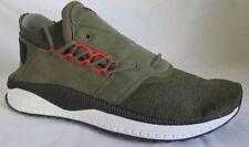 Puma Tsugi Shinsei Nocturnal Olive Green Men Walking Shoes 10.5