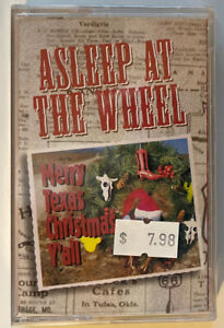 ASLEEP AT THE WHEEL NEW AND SEALED MERRY TEXAS CHRISTMAS Y'ALL MUSIC CASSETTE