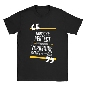 From Yorkshire Mens T-Shirt Present Gift For Yorkshireman For Him