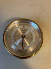Harbormaster Brass Tide Clock Made in the Usa
