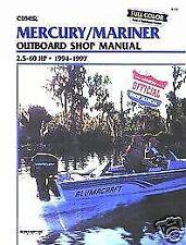 B723 Mercury Marine 2.5-60hp 1994-1997 Outboard Motor Service Repair Shop Manual