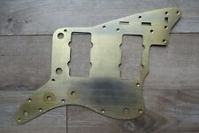 50's early 60's Fender Jazzmaster Pickguard Gold anodized Relic / Aged
