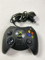 OEM Microsoft Xbox Fat Duke Wired Game Controller Black Model X08-17160