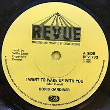 Boris Gardiner - I Want To Wake Up With You - Revue REV-733 VG+ Condition A1/B1
