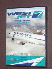JUST PLANES COCKPIT VIDEO DVD        WESTJET      737       new & sealed  OOP