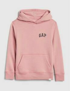 BNEW Gap Kids Logo Girls Sweater, Passion Rose, Small (6-7 y.o)