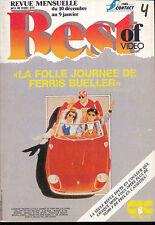BEST OF VIDEO 04/87 ELISABETH MONTGOMERY KIRK DOUGLAS ROBERT MITCHUM