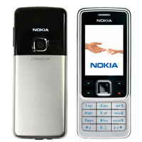 Original Nokia 6300 Cellphone Unlocked FM Camera MP3 Bluetooth Mobile Bar Phone