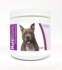 Healthy Breeds American Staffordshire Terrier Multi-Vitamin 60 Ct Soft Chews