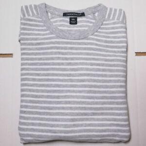 100% Cotton Jumper - Men's, Fields & Stream - GREY & WHITE