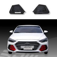 SPW Fog Light Garnish Cover Plates for Hyundai Elantra (Avante AD) 2017+ PAINTED