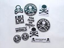 One Pack Total of 11 Mix Mastermind Japan MMJ Skull 3M Vinyl Stickers Decal Logo