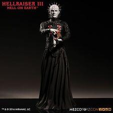 """MEZCO Toyz Hellraiser Inferno sulla terra 12"""" Pinhead Figura in vinile"""