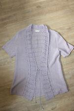 Damen-Pullover & -Strickware aus Baumwollmischung ohne Muster mit Schnürung
