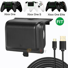 1200mAh Rechargeable Battery Pack Kit & Charging Cable For Xbox One Controller