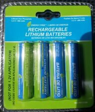 Westinghouse Rechargeable Batteries 3.2v 400mah AA Lithium for Solar