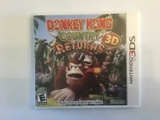 Replacement Case (NO GAME) Donkey Kong Country Returns 3D  - Nintendo 3DS