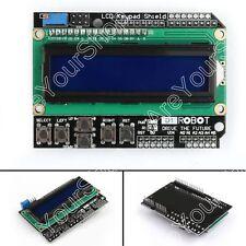 1x LCD 1602 Board Keypad Shield Pantalla Display Para Arduino UNO Mega2560 R3