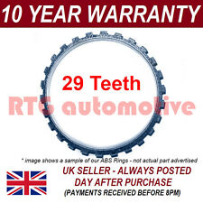 FOR VAUXHALL OPEL CORSA B MK1 COMBO 29 TOOTH FRONT ABS RELUCTOR RING DRIVESHAFT