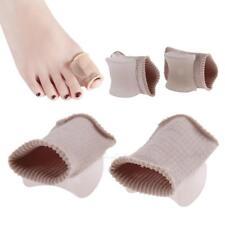 1Pair Big Toe Separator Tube Bandage Finger Hallux Valgus Straighten Correction