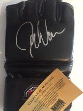 UFC Bellator MMA Former Champ Joe Warren autographed signed MMA glove w/COA+holo