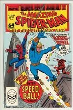 Spiderman Annual 22 - 1st Speedball - High Grade 9.4 / 9.6 NM+