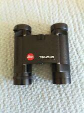 LEITZ  TRINOVID Binoculars w/ Leather Case $9.99 Start NR Leica
