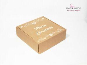 100 Custom Printed Logo Box Business Packaging Screen Printing Carton Gift Boxes