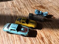 KIDCO, Tootsie Toy, DATSUN 280 ZX, Firebird, Train, Hot rod