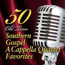 50 OLD TIME SOUTHERN GOSPEL ACAPPELLA 3CD