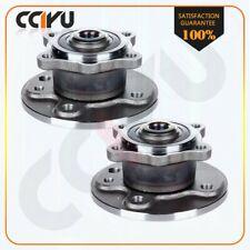 Pair Rear Wheel Bearing Hub Fits 2002 2003 2004 2005 2006 Mini Cooper W/ ABS