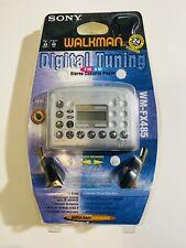 Sony Walkman Digital Tuning Stereo Cassette Player WM-FX485 New Damaged Box