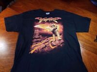 New: DRAGONFORCE (Power Metal) - Fiery Knight (Tour dates on back) T-Shirt