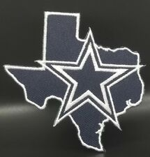 Dallas Cowboys~State~Iron On Logo Embroidered Patch~Free Shipping from the USA~