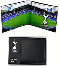 TOTTENHAM HOTSPUR FC REAL LEATHER SPORTS MONEY SPURS STADIUM WALLET PURSE GIFT