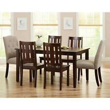 Dining Room Set Kitchen Tables And Chairs Contemporary Wooden Table Sets Seats 6