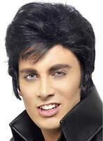 Elvis Presley Wig 50s 60s 70s Teddy Boy Retro Fancy Dress Rock Roll Costume