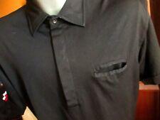 Xl True Vtg 80s Ultra Thin Polyester Blend Stretch Knit Polo Golf Shirt