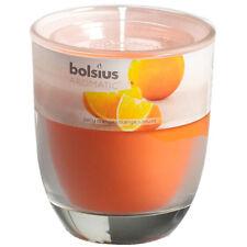 6 Duftgläser Saftige Orange 80x70 mm Bolsius Aromatic Duftkerzen Duftglas