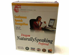 Dragon Naturally Speaking Preferred Continuous Speech Recognition