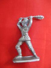 JEM Figurine moyen age 1/32 soldat avec gourdin Norev Non peint