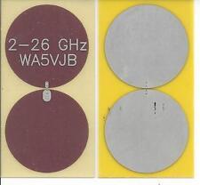 2 - 26 GHz Planar Antenna by WA5VJB