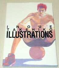 Takehiko Inoue Illustrations Art Book Slam Dunk Manga