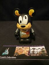 "Disney Parks Authentic Deputy Goofy 3"" Vinylmation Mickey's Wild West series"