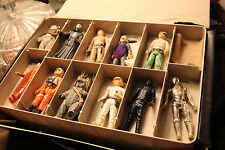 star wars The Empire Strikes Back Vinyl Case & Star wars figures from 1977-1985