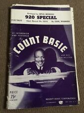 Count Basie Orchestra 920 Special Big Band Chart Sheet Music 14 Arrangements