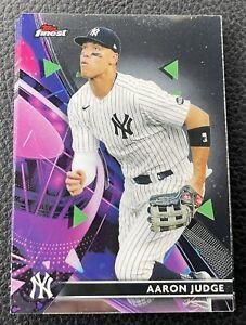 2021 Topps Finest Aaron Judge #68 base New York Yankees