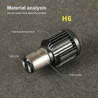 H6 BA20D Type 12W High Power SMD LED Super Bright Xenon White Light Bulb