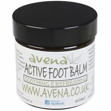 Natural Active Foot Balm 60ml For Tired Aching Feet with Essential Oils